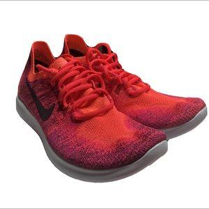 Nike Women's Free RN Flyknit Running Shoes 2017